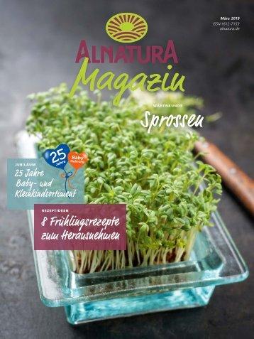 Alnatura Magazin März 2019