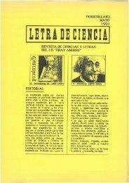 LETRA DE CIENCIA - 1991