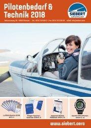Siebert Luftfahrtbedarf Katalog Pilotenbedarf & Technik 2018