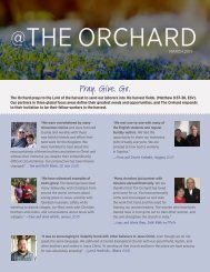 ALL-March 2019 @theorchard_singles