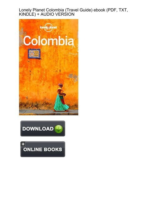 Lonely Planet Colombia Ebook