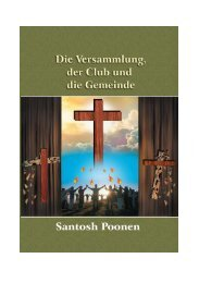 Die Versammlung, der Club und die Gemeinde - Santosh Poonen