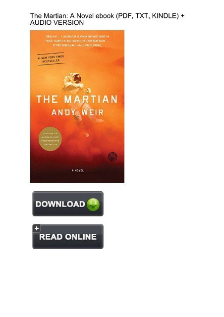 The Martian Ebook