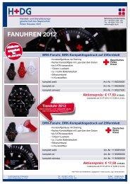 Fanuhren 2012 - H+DG