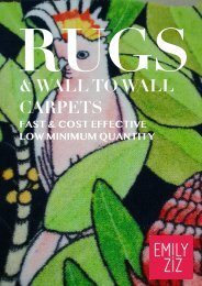Emily Ziz Custom Rugs and Carpets