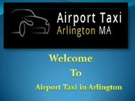 Arlington Airport transportation