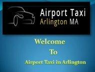Arlington Airport transportation