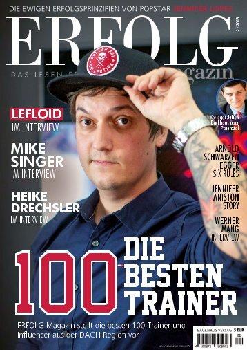 Erfolg Magazin, Ausgabe 2-2019