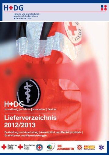 Lieferverzeichnis 2012/2013 - H+DG