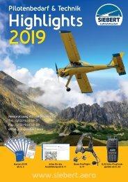 Siebert Luftfahrtbedarf Highlights Pilotenbedarf & Technik 2019