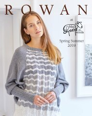 Black Sheep Rowan Look Book Spring Summer 2019