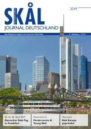 Skål International Deutschland Mitgliedermagazin 1-2019