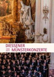 Diessener Münsterkonzerte 2019