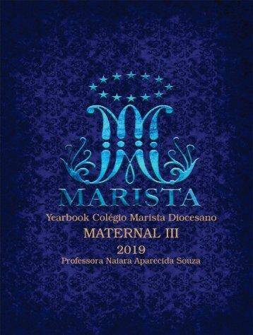 Yearbook Colégio Marista Diocesano - Maternal III