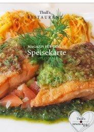 Speisekarte Thulls Restaurant - Hotel zum Anker - ab März 2019