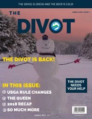 THE DIVOT - MARCH 2019