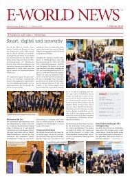 E-world News 7. Februar 2019