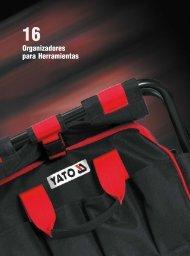Catálogo Organizadores de Herramientas Yato by Carbone