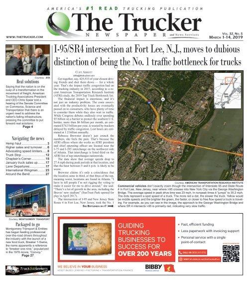 The Trucker Newspaper - March 1, 2019