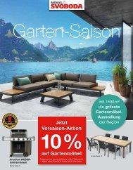 Garten-Saison - Möbel SVOBODA