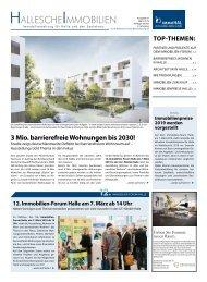 Hallesche Immobilien Zeitung 81 März 2019 immoHAL