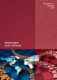 B.A.U.M.-Jahrbuch 2015: Nachhaltigkeit in der Lieferkette