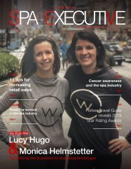 Spa Executive | Issue 4 | March 2019