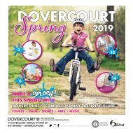 Dovercourt Spring 2019 program guide