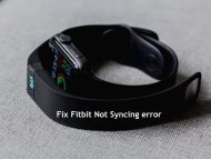 Fix Fitbit Not Syncing error