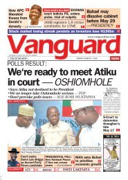 01032019 - POLLS RESULT:We're ready to meet Atiku in court — OSHIOMHOLE
