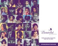 Beautiful Foundation Sponsor Package