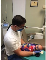 Dr Warcup with pediatric patient at North Texas Smiles Pediatric Dentistry & Orthodontics Fort Worth TX