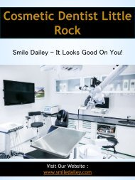Cosmetic Dentist Little Rock