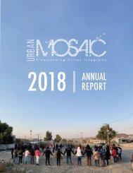 2018 Urban Mosaic Annual Report