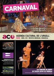 Agenda Cultural MARÇ  2019