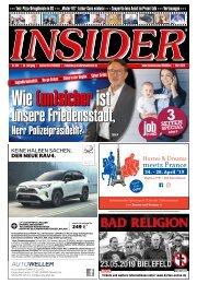 INSIDER Osnabrück // März 2019 // No. 428