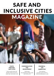 Safe and Inclusive Cities Magazine, issue 1, 2019