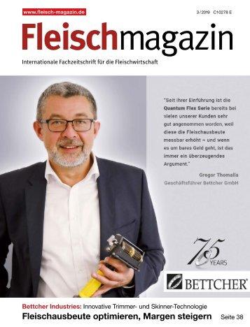 Fleischmagazin 3/2019 – Titelgeschichte