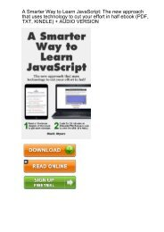 PDF Download A Smarter Way to Learn Python Learn it faster