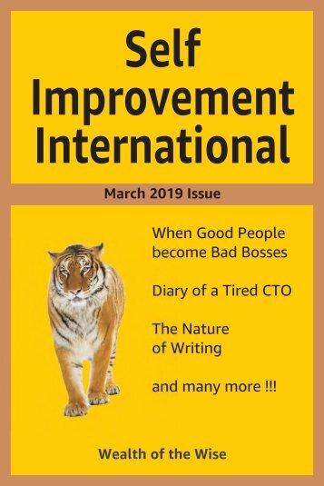 Self Improvement International - March 2019 Sample