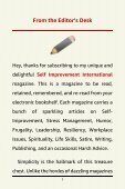 Self Improvement International - March 2019 Sample - Page 7