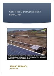 Global Solar Micro Inverters Market Report 2018-24