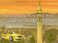 Berkeley cab- Yellow Airport Cabs