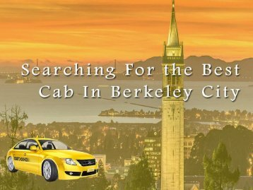 Berkeley cab- Yellow Airport Cabs