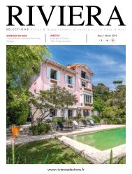 Riviera Sélections - Mars 2019