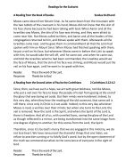 St Mary Redcliffe Pew Leaflet, March 3 2019 - Page 3