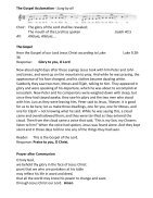 St Mary Redcliffe Pew Leaflet, March 3 2019 - Page 4