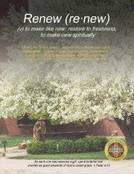 Renew Commitment Booklet
