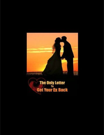 R. Rowley: The Only Letter To Get Your Ex Back Book PDF
