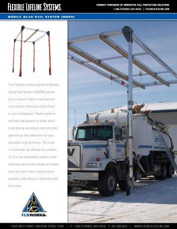 The Flexible Lifeline Systems Mobile Quad Rail System (MQRS ...